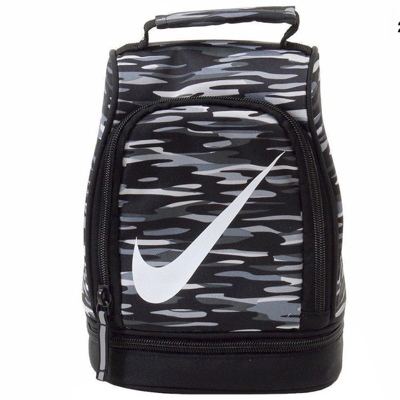 a893d110b85a Authentic Nike insulated gray camo Lunch bag tote